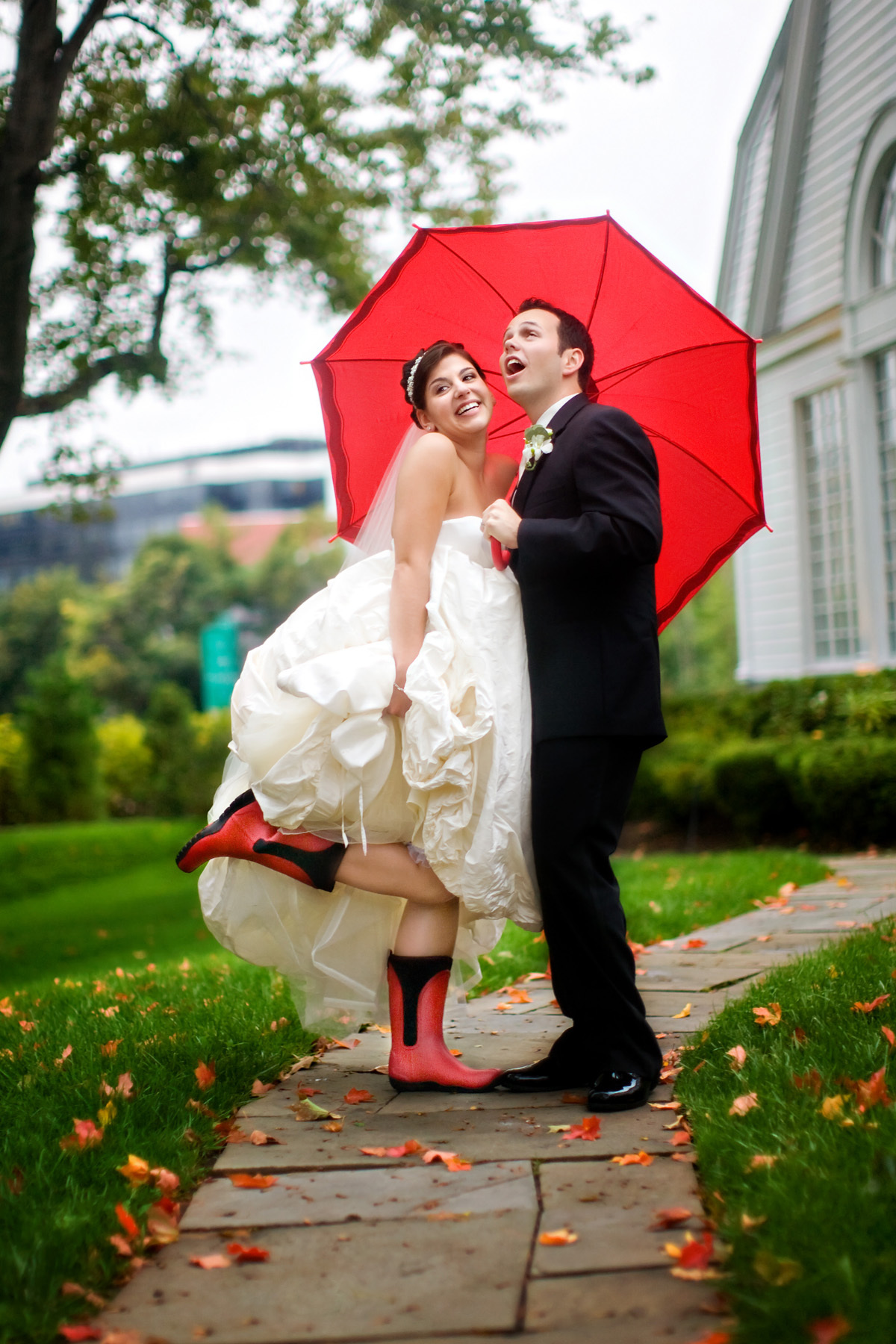 red, Umbrella, Figtree productions