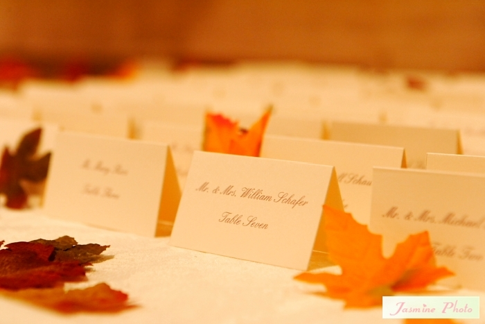 Stationery, orange, purple, Place Cards, Placecards, Metallic, Platinum events and design