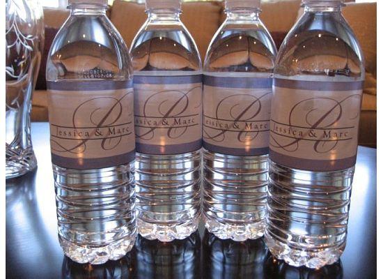 Water, Labels, Bottle, Platinum events and design