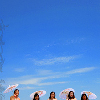 Bridesmaids, Bridesmaids Dresses, Fashion, Bride, Wedding, Adamson house, Parasol, Alice hu photography