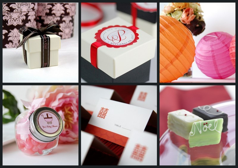Favors & Gifts, Favors, Collage