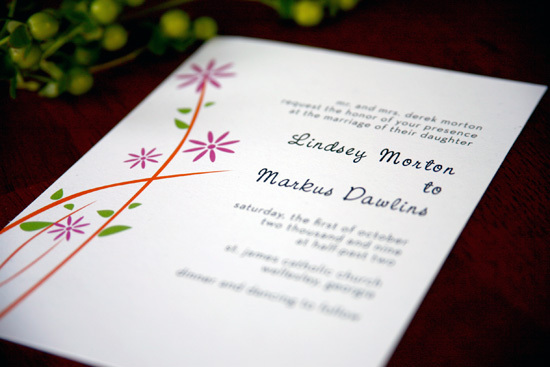 Wedding invitation, Wedding invitations, Modern girl invitations