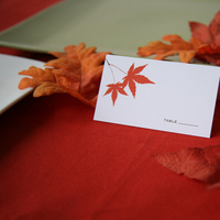 Stationery, Fall, Place Cards, Placecards