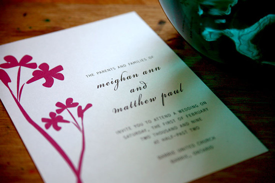 Wedding invitations, Modern girl invitations, Modern wedding invitation, Flowers wedding invitation