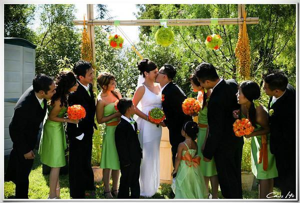 Beauty, Flowers & Decor, orange, green, Makeup, Flower, Hair, Theme, Design, Color, Bridemaid