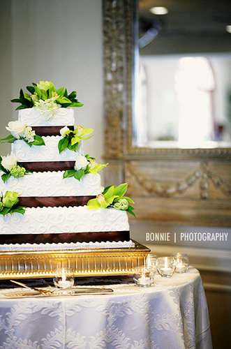 Reception, Flowers & Decor, Cakes, cake, Bonnie tsang photography