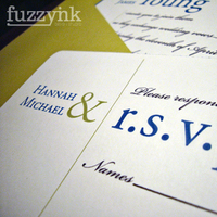 Stationery, blue, green, invitation, Modern, Modern Wedding Invitations, Invitations, Rsvp, Fuzzynk design studio, Script, Font