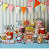 Reception, Flowers & Decor, Candy, Bar