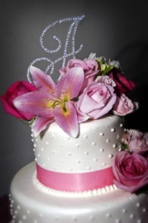 Flowers & Decor, Cakes, white, pink, cake, Flowers