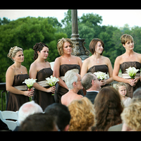 Ceremony, Flowers & Decor, Bridesmaids, Bridesmaids Dresses, Fashion, Ceremony Flowers, Bridesmaid Bouquets, Flowers, Candid, Flower Wedding Dresses
