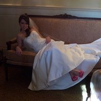 Wedding Dresses, Shoes, Fashion, pink, dress