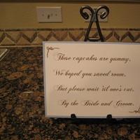 Cupcake, Sign