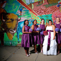 Bridesmaids, Bridesmaids Dresses, Wedding Dresses, Fashion, purple, dress, Graffiti, Plum