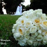 Flowers & Decor, Flowers, Champagne wedding, Couples photo