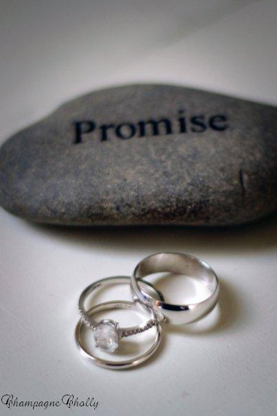 Rings, Champagne wedding