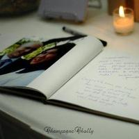 Guestbook, Guest book, Champagne wedding
