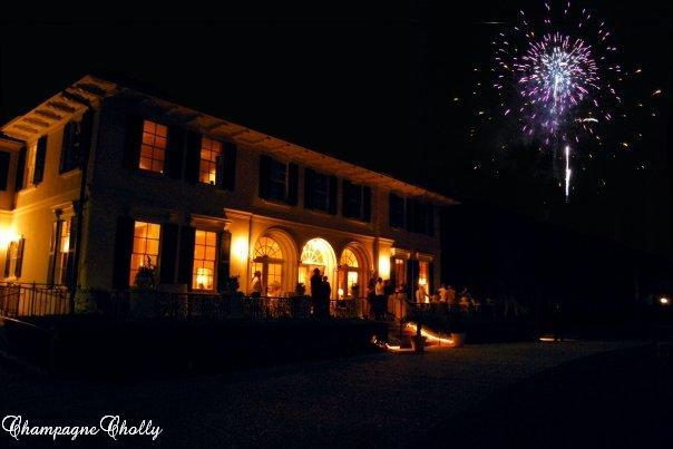 Reception, Flowers & Decor, Fireworks, Champagne wedding