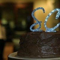 Cakes, blue, cake, Monogrammed Wedding Cakes, Monogram, Cake topper, Swarovski