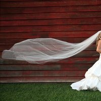 Wedding Dresses, Veils, Fashion, red, dress, Bride, Groom, Veil, And, Barn, Kansas, Phase 3 photography