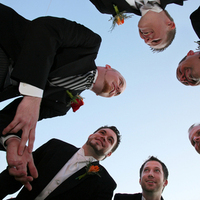 Fashion, Men's Formal Wear, Groomsmen, Groom, Tuxedo, Phase 3 photography