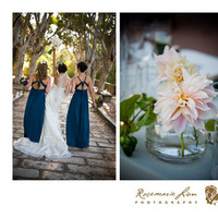Flowers & Decor, Bride Bouquets, Flowers, Brides, Center, Maids, Piece, Rosemarie lion photography