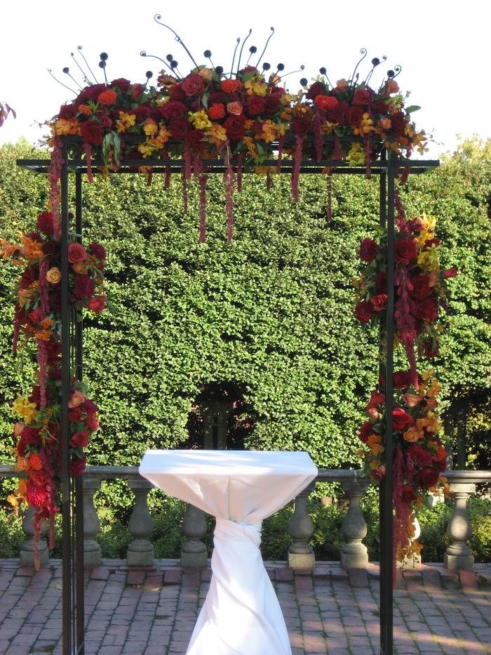Ceremony, Flowers & Decor, Arch