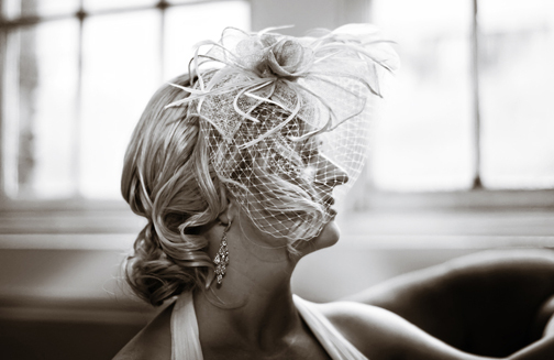Reception, Flowers & Decor, Bride, Portrait, Headpiece, Michelle hayes photography, Bird cage veil, Long island city, Metropolitan place, Fascinoators