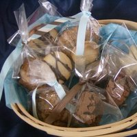 Favors & Gifts, blue, Favors, Dessert, Cookies, Wedding, Bachelorette, Cookie, Desserts, Sweet dreamery desserts, Baked, Goods, Sweets, Bagged