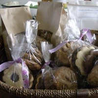 DIY, Favors & Gifts, purple, Favors, Edible, Dessert, Cookie, Ribbon, Lavender, Bag, Pretty, Sweet dreamery desserts, Bagged