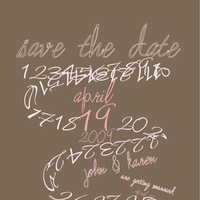 The, Save, Date, Card, Simply so stylish