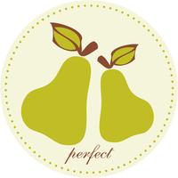 Monogram, Pear, Pair, Simply so stylish