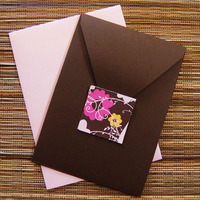 DIY, Stationery, pink, brown, invitation, Invitations, And, Bird, Bella kai invitations