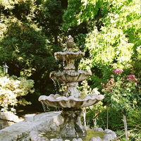 Ceremony, Flowers & Decor, Fountain, Harvest inn, Napa, St helena