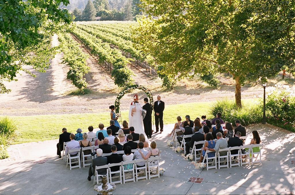 Ceremony, Flowers & Decor, Vineyard, Outdoor