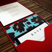 DIY, Stationery, red, invitation, Invitations, Bella kai invitations