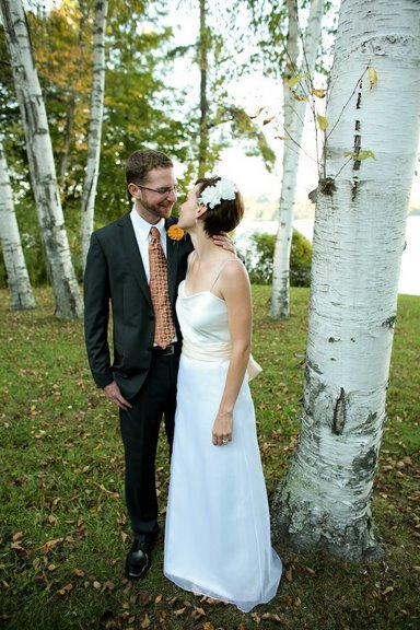 DIY, Wedding, Colorful, Lakeside, Connecticut