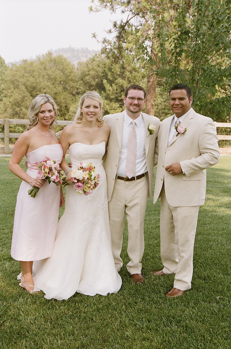 pink, green, Wedding party, Wedding, Winery, Country
