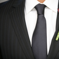 orange, burgundy, Wedding, Boutonniere