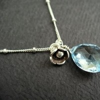 Jewelry, blue, Necklaces, Necklace, Bridemaid