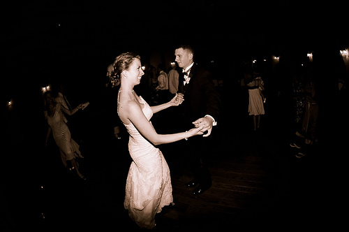 Bride, Dancing, Brother, Fisheye