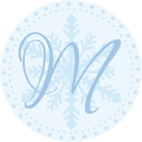 blue, Winter, Monogram, Wedding, Theme, Snowflake, Christmas, Simply so stylish