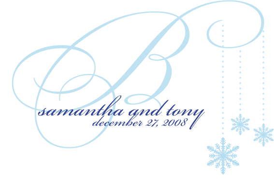 blue, Winter, Monogram, Wedding, Snowflake, Initial, Simply so stylish