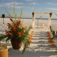 Flowers & Decor, Ceremony Flowers, Aisle Decor, Beach Wedding Flowers & Decor