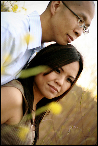 yellow, Engagement, Fields, Mimi nguyen photography