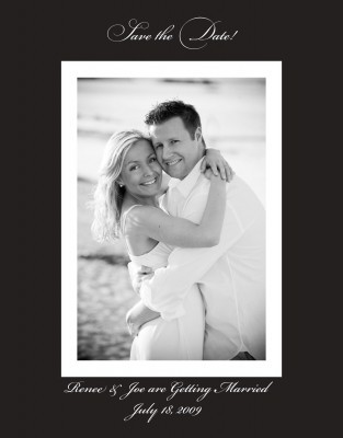 Wedding, The, Save, Date, Std, Exquisite affairs productions inc
