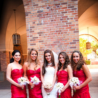 Bridesmaids, Bridesmaids Dresses, Wedding Dresses, Fashion, pink, red, dress, City, Wedding, Glamour