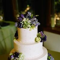 Flowers & Decor, Cakes, purple, cake, Vineyard, Vineyard Wedding Cakes, Wedding