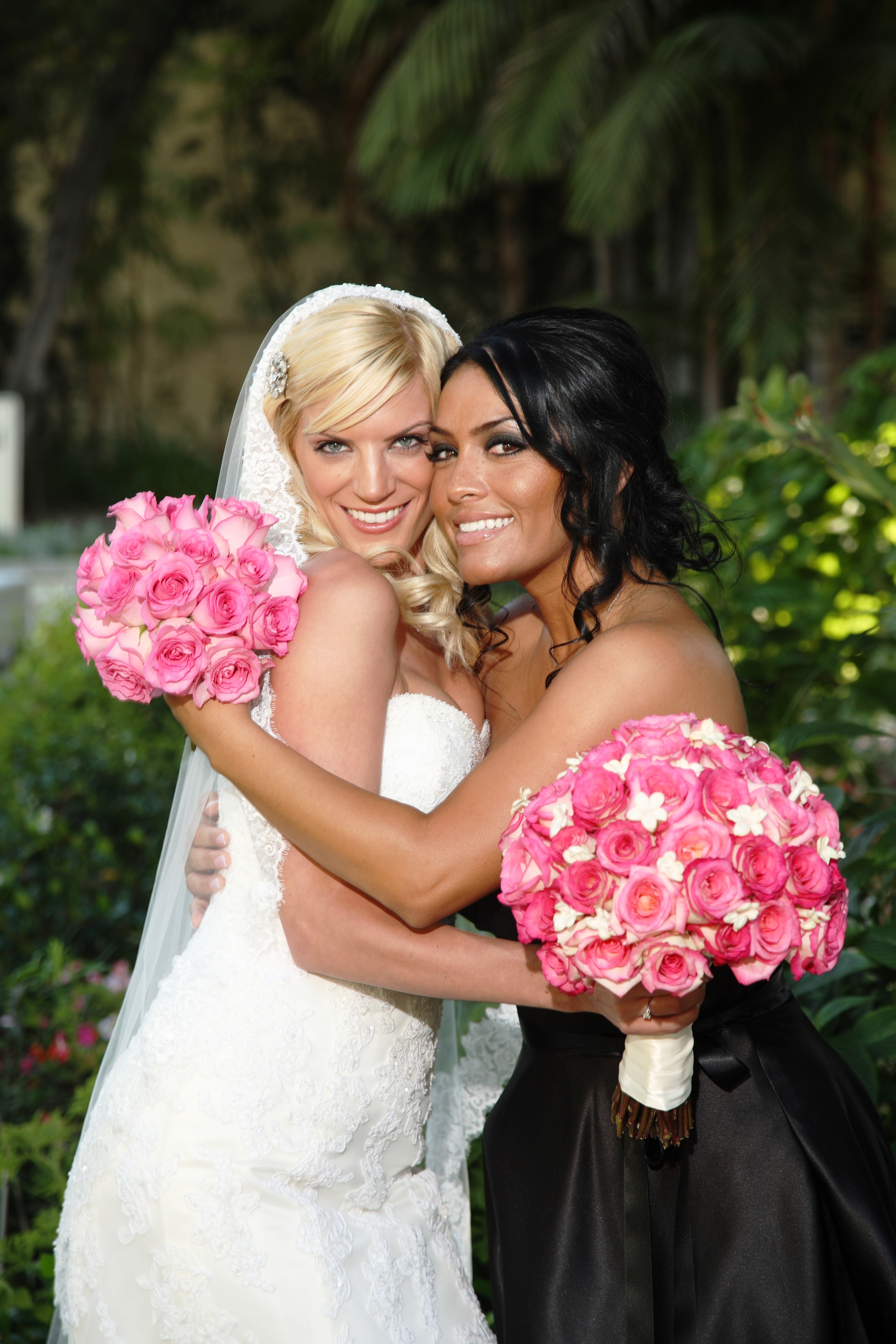 Flowers & Decor, Fashion, pink, Bride Bouquets, Flowers, Brides, Dresses, Maid, Event professionals, Flower Wedding Dresses