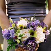 Flowers & Decor, purple, Vineyard, Wedding, Bill levkoff