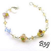 Flowers & Decor, Jewelry, Bracelets, Flower, Girl, Wedding, Bracelet, Kira designs